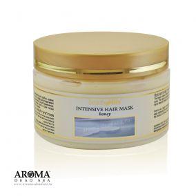 Маска для волос с медом и минералами Мертвого моря