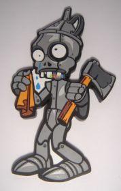 коллекционный магнит на холодильник Зомби - Железный дровосек