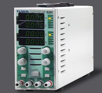 Двухканальный нагрузкометр для тестирования источников питания постоянного тока Kunkin KL293A (до 400W)