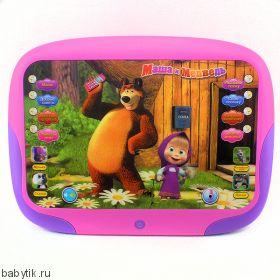"""Интерактивный ЗD планшет """"Маша и Медведь"""""""