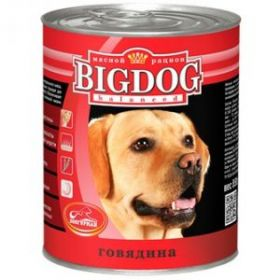 Зоогурман Big Dog Говядина д/взрослых собак 850гр