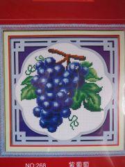 """Купить набор для вышивания крестом """"Виноградная кисть"""""""