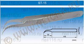 ПИНЦЕТ NEICHA TWEEZERS (VETUS) ST-15 изогнутый