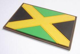 "нашивка / магнит на холодильник ""флаг Ямайки"""