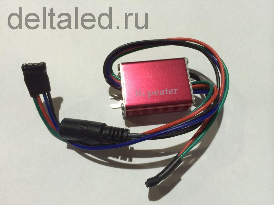 Усилитель мощьности для контроллера светодинамики трехканальный 3А на канал
