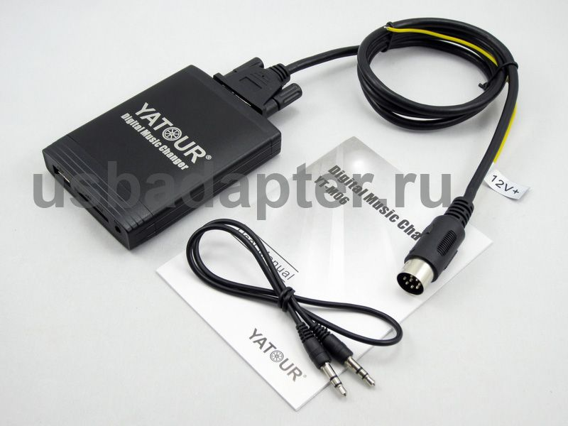 MP3 USB адаптер YT-M06 Volvo HU