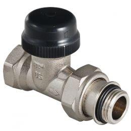 Клапан термостатический прямой с преднастройкой (KV 0,1-0,6)