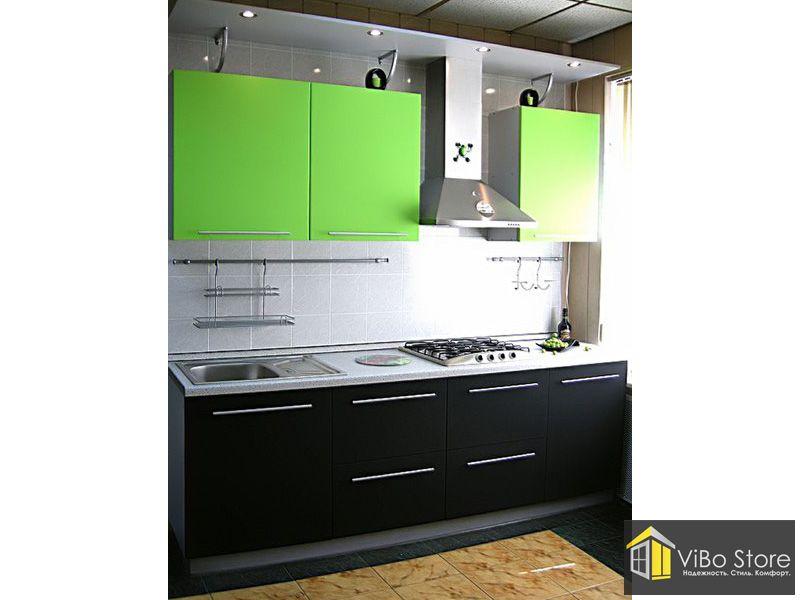 Однорядная кухня 007 МДФ в Пленке
