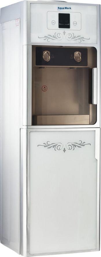 Кулер напольный для воды Aqua Work SLR76 с холодильником белый