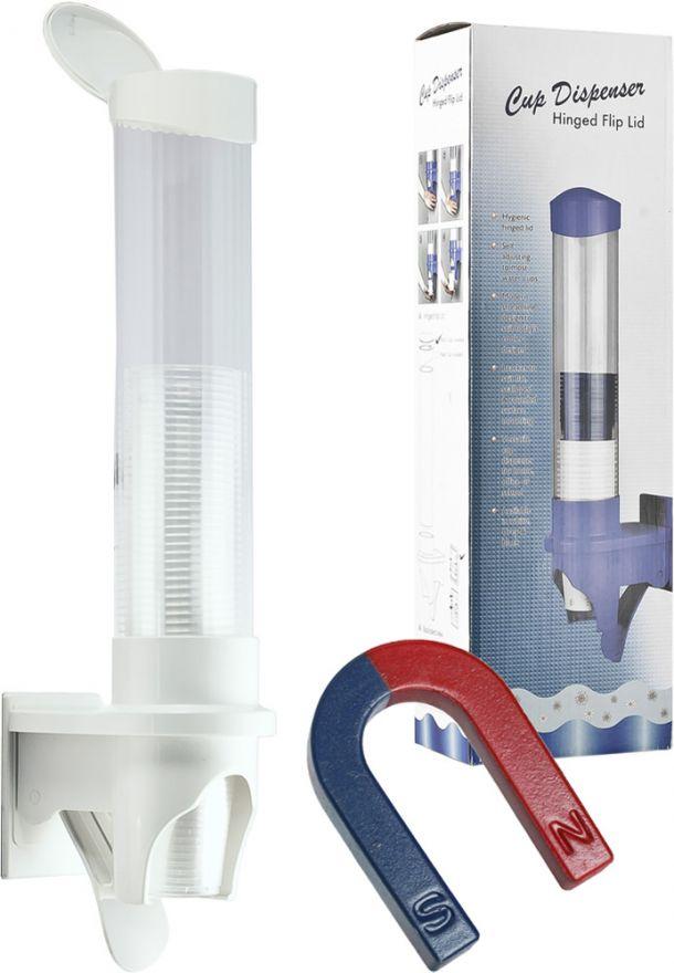 Стаканодержатель Aqua Work с дозатором на магнитах