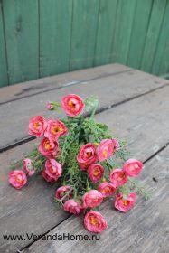 Розочка кустовая розовая