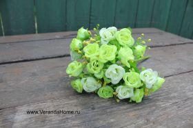 Розочка нежная зелень
