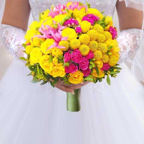 Свадебный букет невесты №7