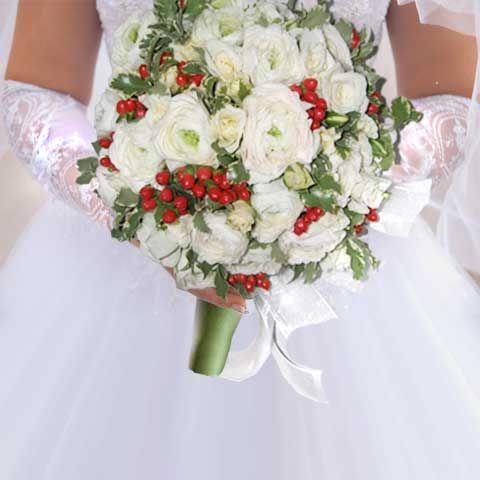 Свадебный букет невесты №9