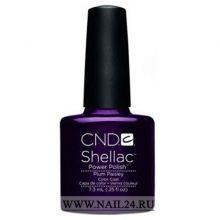 CND shellac PLUM PAISLEY 0.25oz/7.3мл