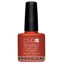 CND shellac FINE VERMILION 0.25oz/7.3мл