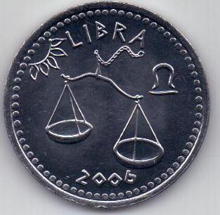 10 шиллингов 2006 года Весы Сомали
