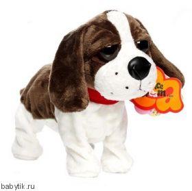 Игрушка Интерактивная собака Басет