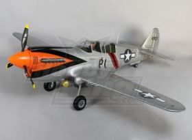 P-40N большого масштаба, 6s, Закрылки, Огни, Ретракты, 1700мм EPO (PNF)