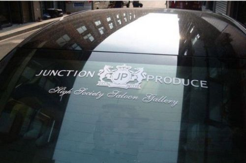 "Наклейка ""JUNCTION PRODUCE"""
