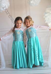 Платье Эльзы из Холодное сердце рост 120 см