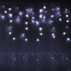 """Гирлянда """"Бахрома"""" улич. УМС, Ш:3 м, В:0,6 м, нить темная, LED-160-220V, соеденяемая"""