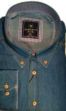 BARCOTTI.Сорочка мужская джинсовая.