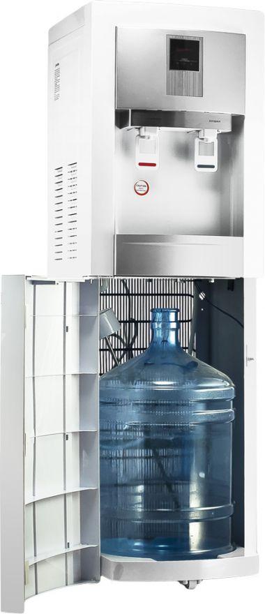 Кулер напольный для воды с нижней загрузкой  Aqua Work 62-T белый