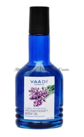 Ароматическое масло для тела Лаванда&Миндаль Ваади | Vaadi Lavender&Almond Body Oil