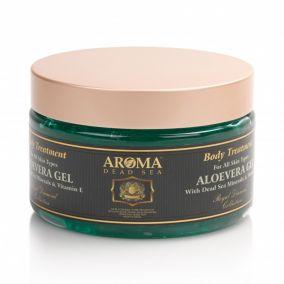Гель Алоэ-вера с витаминами и минералами Мертвого моря для всех типов кожи