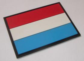 нашивка флаг Королевства Люксембург, Groussherzogtum Lëtzebuerg, Luxembourg
