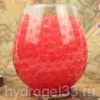 гидроогель красный