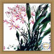 """Картина по номерам """"Орхидеи. Китайской тушью"""""""