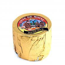 Сыр  Тет Де Муан Margot Fromages АОС 4 мес. Резервный в Золотой фольге Головка ~ 850 г (Швейцария)