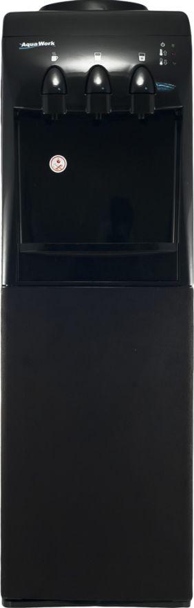 Кулер напольный для воды Aqua Work 833-S-W Черный велюр