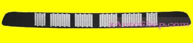 NISSAN ALMERA (N16) 01.03 - 05.07 :Решётка в бампер центр. (без отверст. под против.)