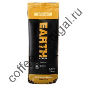 """Кофе """"Earth"""" тонкий помол  250 гр"""