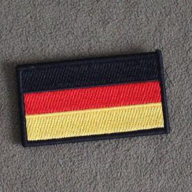 Нашивка флаг Германии (с velcro)