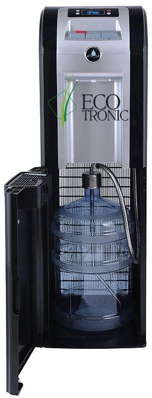 Кулер для воды Ecotronic p8-lx black/silver нижняя загрузка