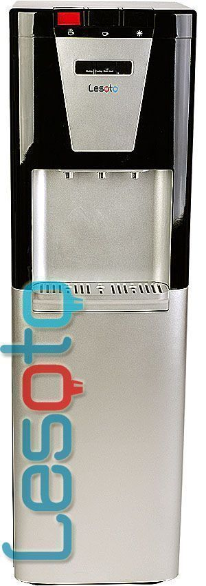 Kулер для воды Lesoto 888 l-g black-silver