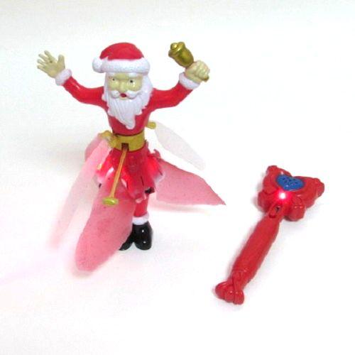 Волшебный летающий Санта Клаус Magic Santa Claus с подсветкой