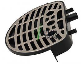 Лоток-подставка под кастрюлю к кулеру с нижней загрузкой Ecotronic C8, C10-LX круглый металлик
