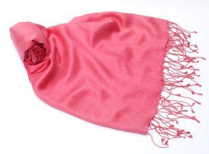Розовый шелковый шарф (под заказ)