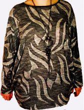Блуза женская с цепочкой+кулон