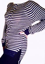"""свитер """"тельняшка"""".размер 46,48,50,52"""