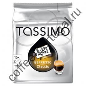 "Кофе ""Tassimo Espresso Classico"" в капсулах"