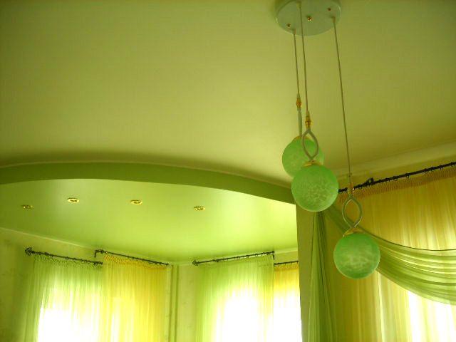 Матовый цветной натяжной потолок цена за кв. м