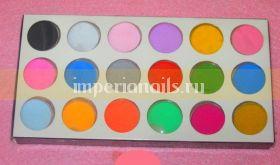 Цветной бархатный песок набор 36 шт