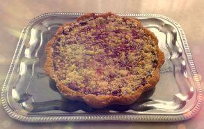 Пирог из песочного теста с черничной начинкой (1000 г.)