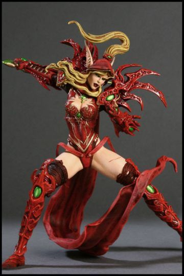 Фигурка героя Blood Elf 25 см